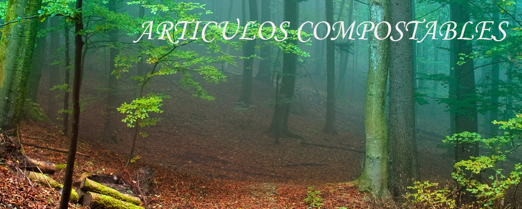 ARTICULOS COMPOSTABLE